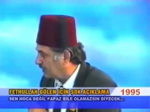 FETULLAH GÜLEN İÇİN AÇIKLAMASI (1995)