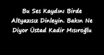Mehmet Akif Ersoy'la ilgili sözlerinin aslı !..
